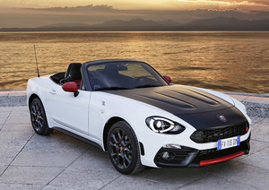 Galeria Abarth  124 Spider frontal