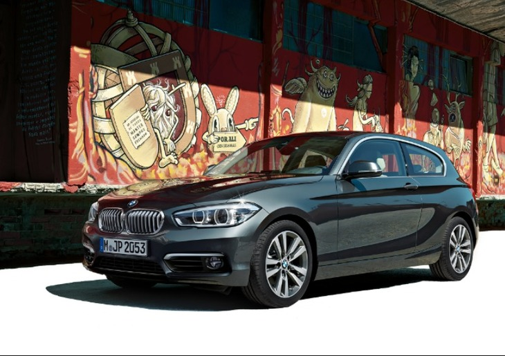 Galeria BMW  Serie 1 frontal