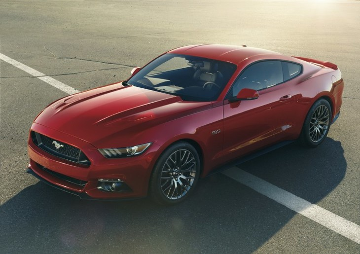 Galeria Ford  Mustang frontal